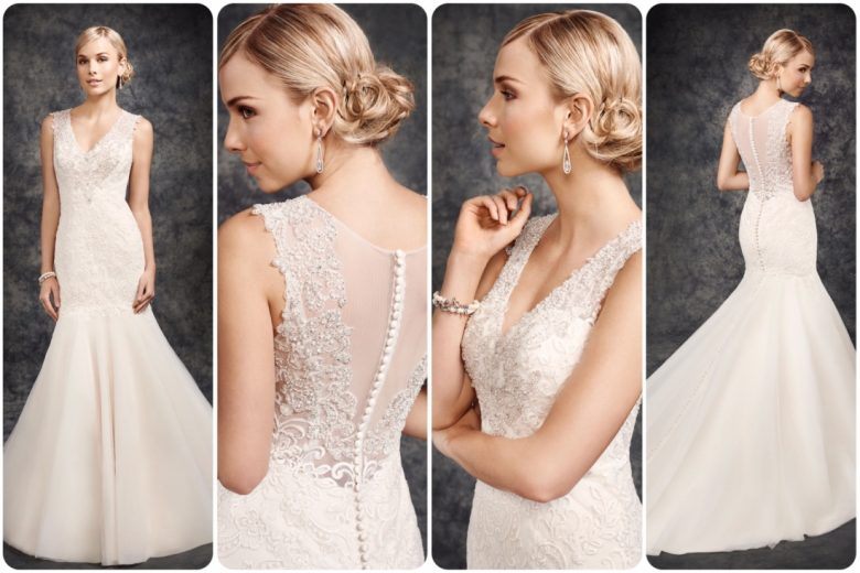 Size 12- Vintage/Silver- Retail Price £1,220- Sale Price £610